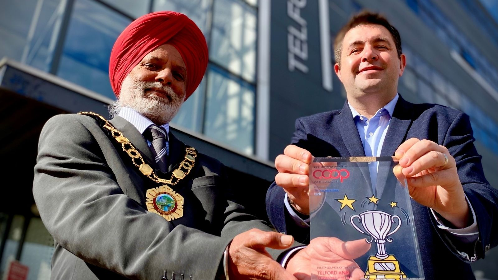 Telford and Wrekin Council celebrates Co-op of the Year Award win