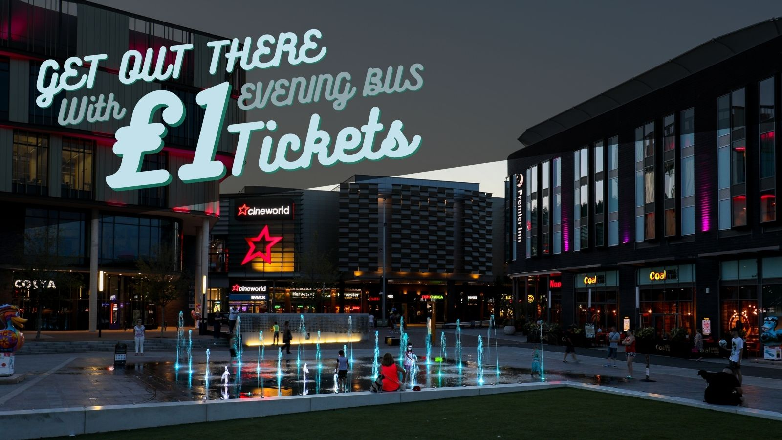 Arriva launch £1 evening bus ticket