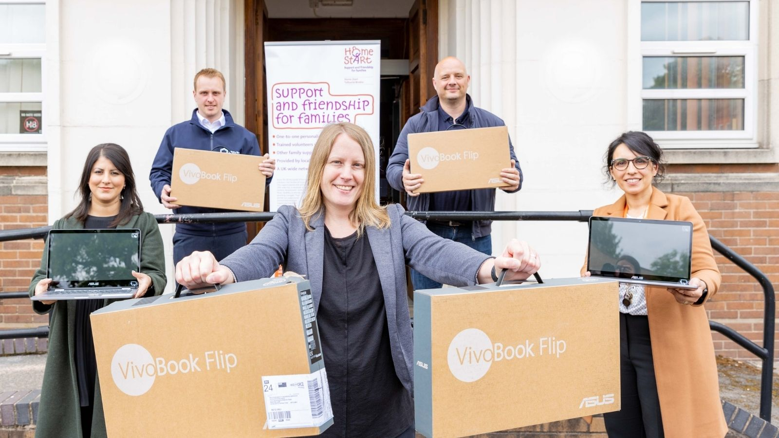 Telford & Wrekin Council Working in Partnership to combat digital exclusion