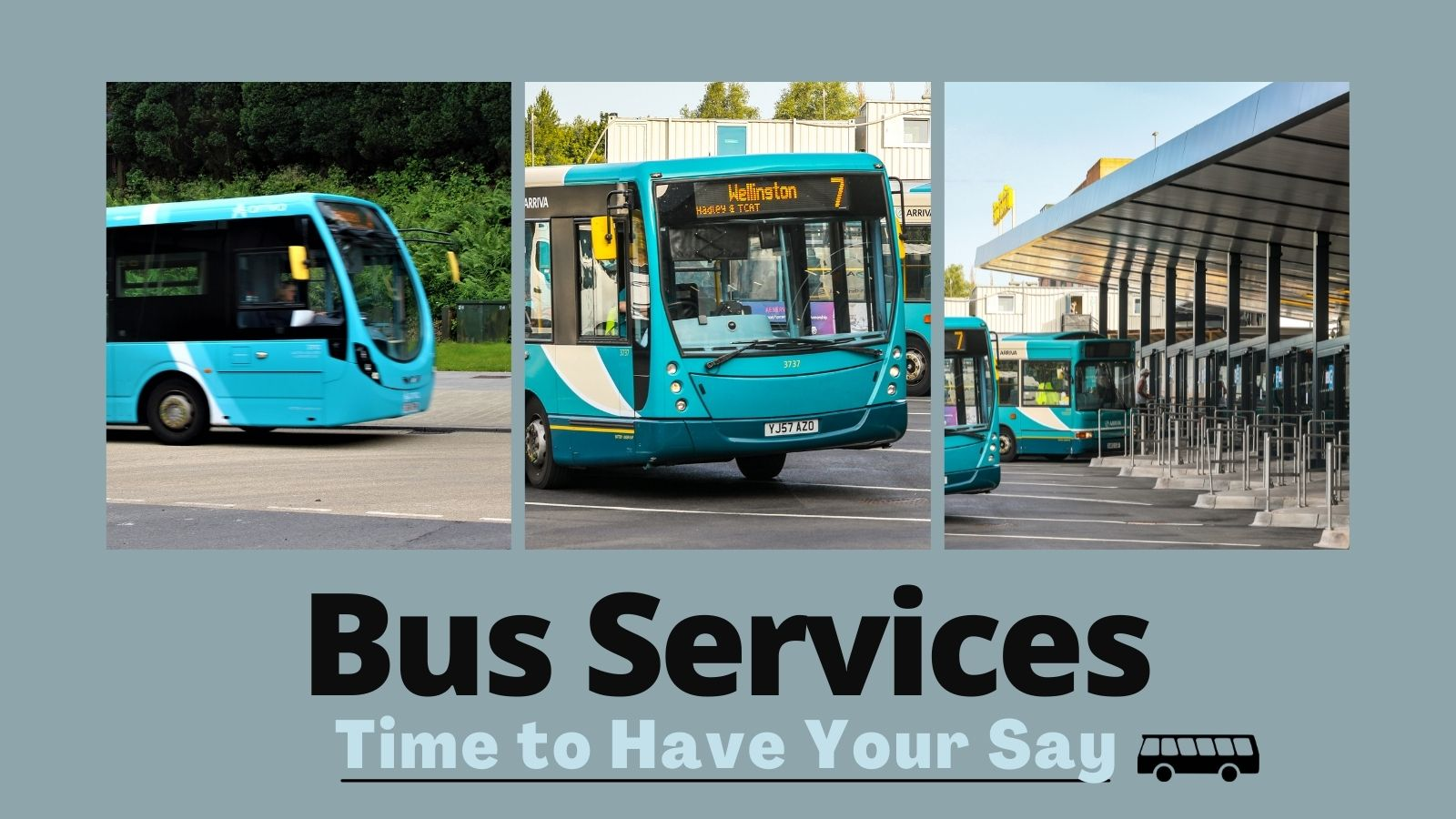 Reshaping bus travel for Telford residents – Time to Have your say
