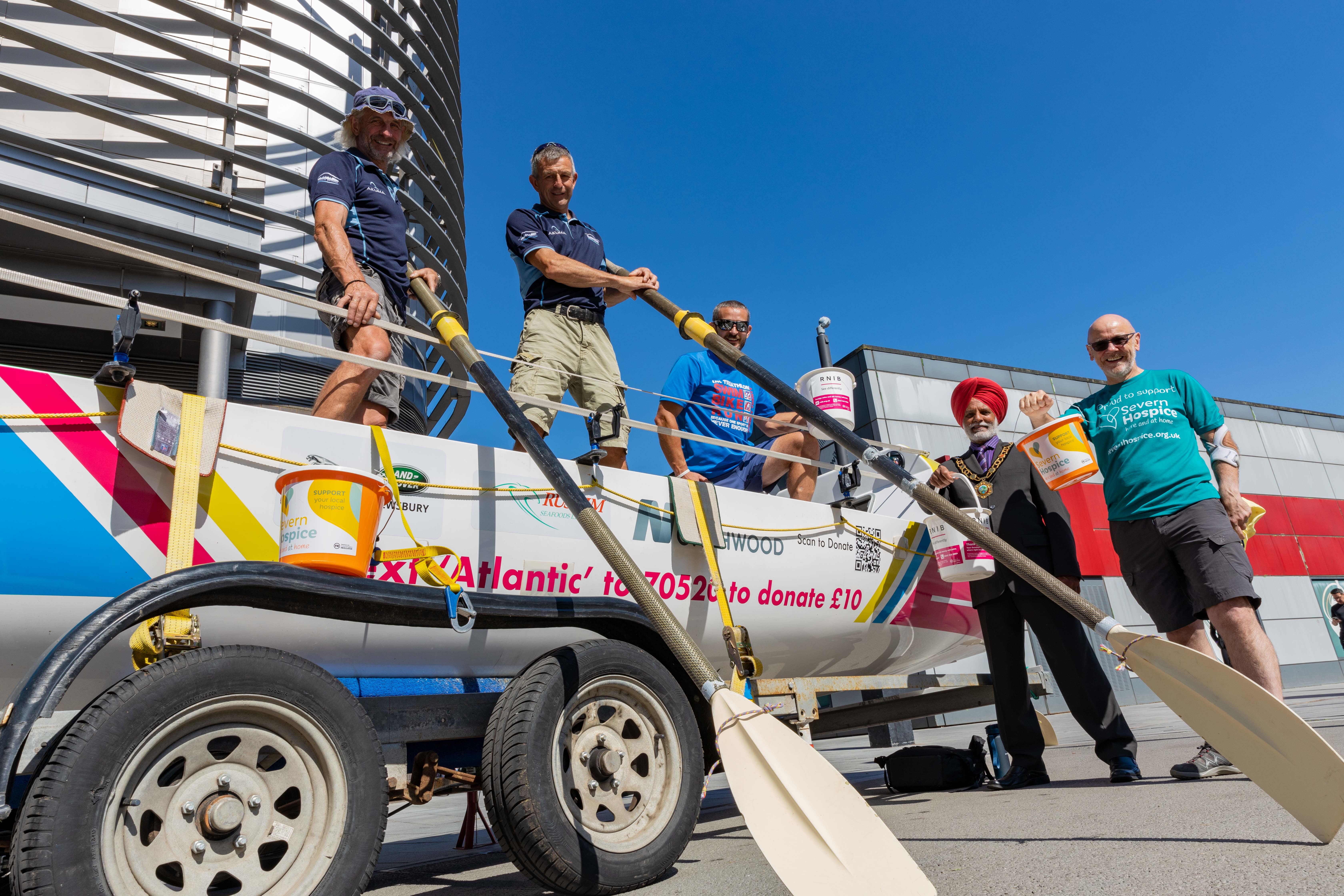 Wrekin Rowers get set for Atlantic adventure