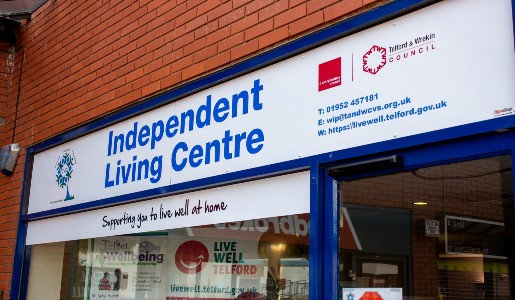 Independent Living Centre – care and support for the entire Telford and Wrekin community