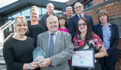 Telford & Wrekin Cleaning Services wins top award