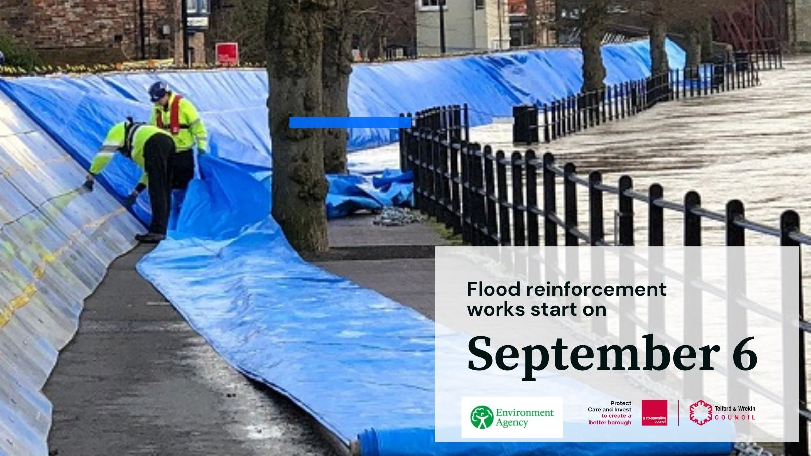 Wharfage Flood Improvements, Planned for September