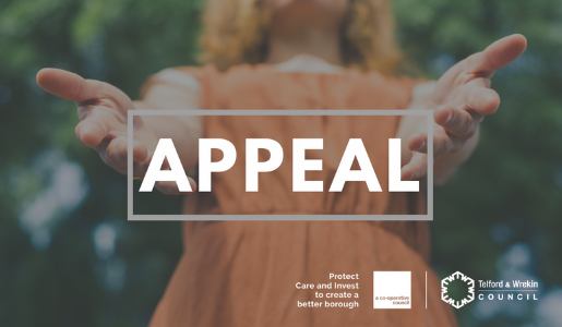 Donations appeal to support people in Telford and Wrekin
