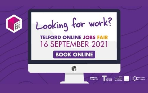 Telford's Online Jobs Fair takes place this month