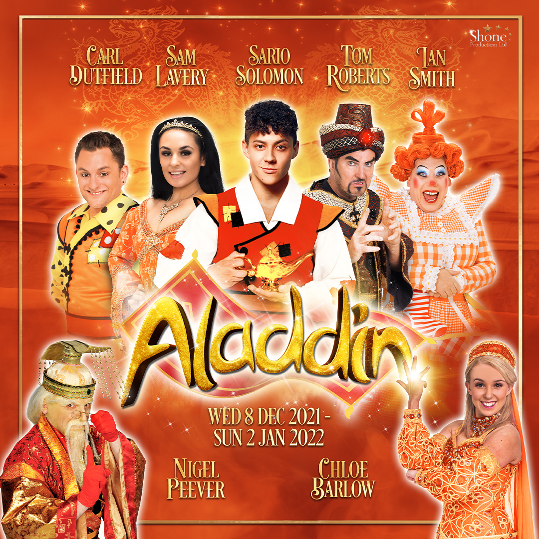 Star cast announced for the return of pantomime to Telford