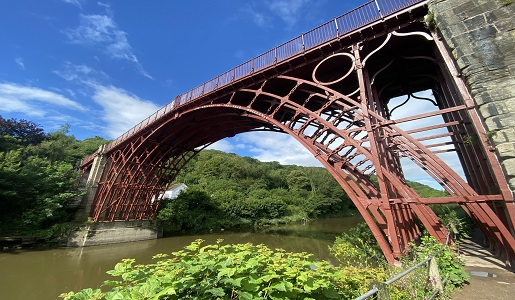 Ironbridge Gorge rated No6 in the top 60 UK towns and villages
