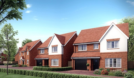 New homes rise on former school site in Telford
