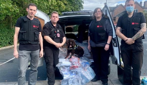 £10,000 haul as trading standards and police seize contraband in Telford