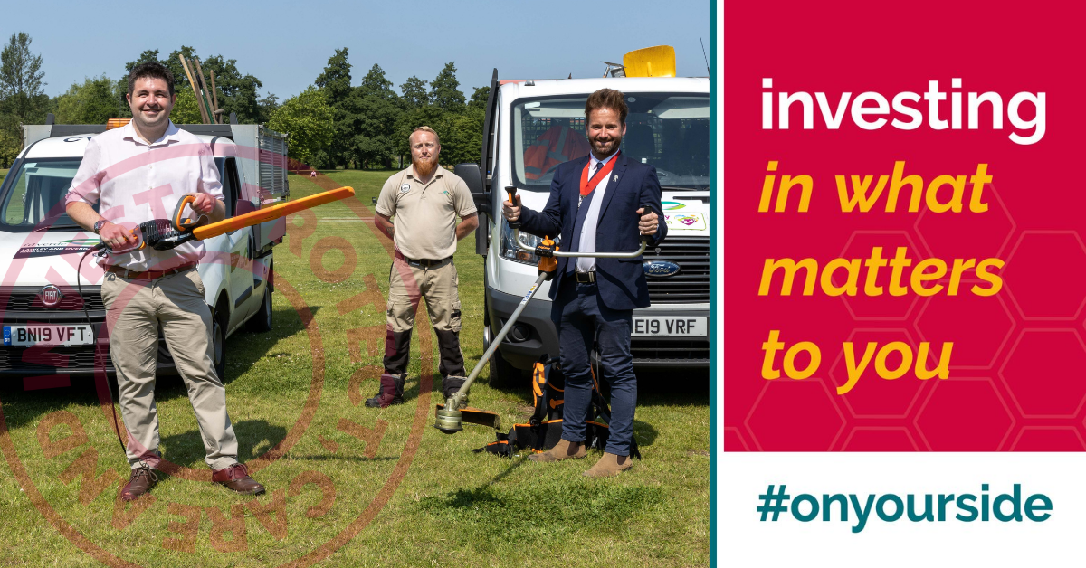 On your side with £1.5m to keep Telford and Wrekin Cleaner, Greener and Safer