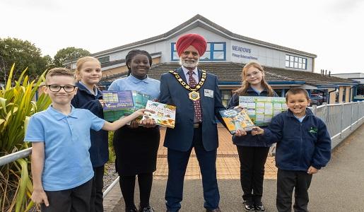 Telford & Wrekin Mayor rewards hardworking School Council