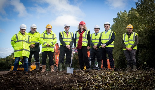 Stoford breaks ground on new Portion Solutions manufacturing facility in Telford