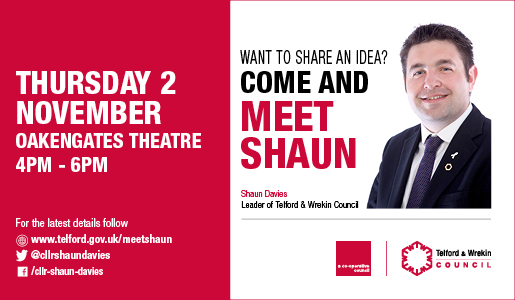 Meet Shaun in Oakengates