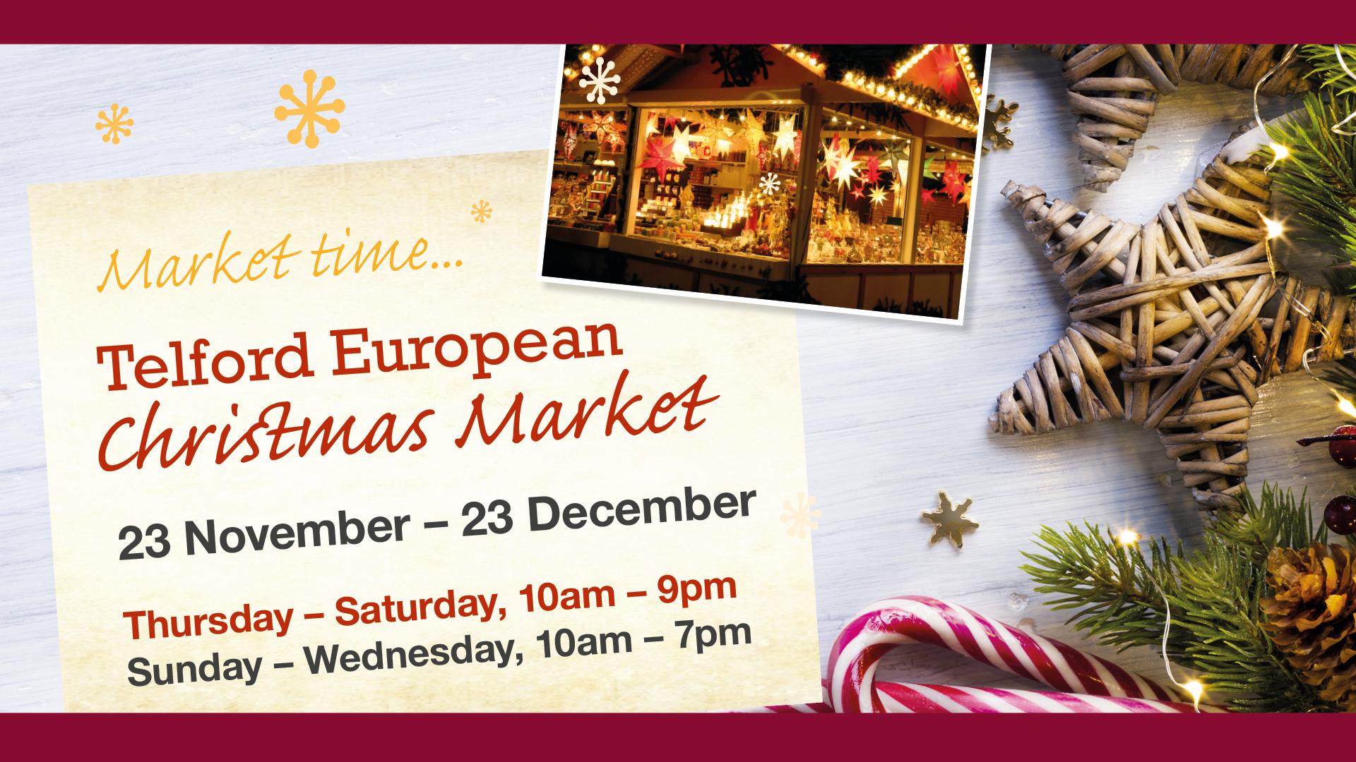 Newsroom - Bar! Sausages! Gluhwein! Telford European Christmas ...