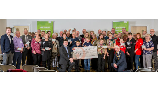 18 Community projects receive grants