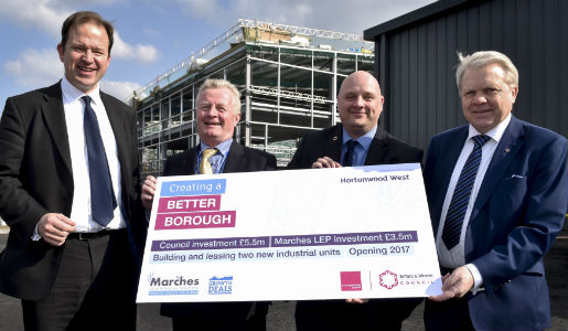 Council Growth Fund attracts new business to Hortonwood