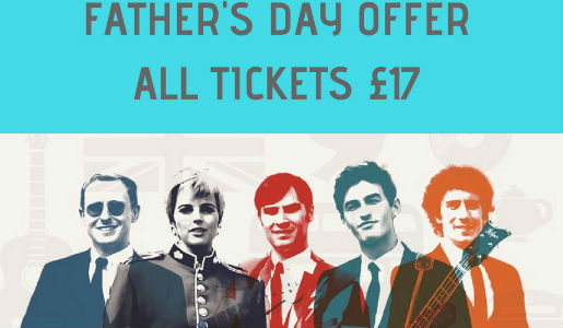 Big Top latest: Father's Day offer for Sounds of the 60s