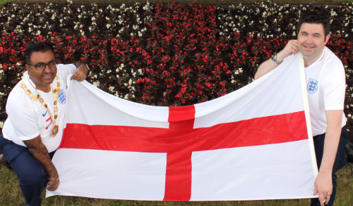 C'mon England!