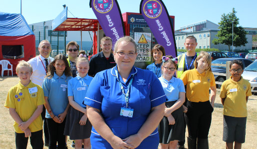 Safety event success for more than 2,300 students