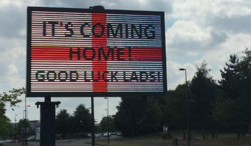 Good luck England!