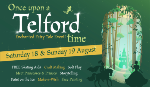 A fairy tale extravaganza comes to Telford Ice Rink this August
